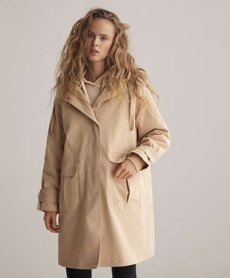 Oversized 2-in-1 parka