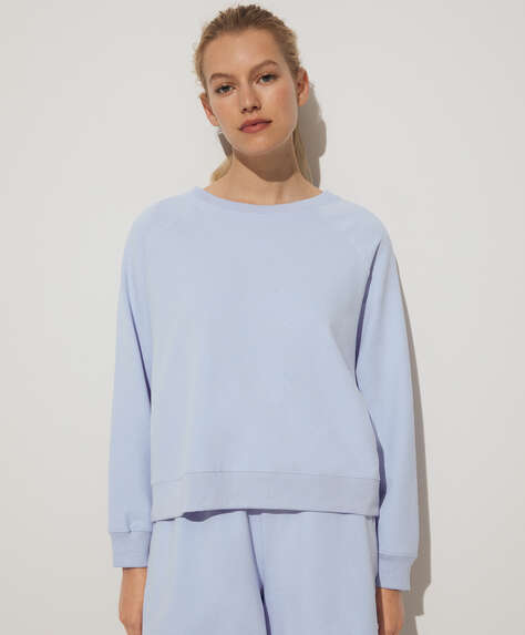 Modal plush sweatshirt