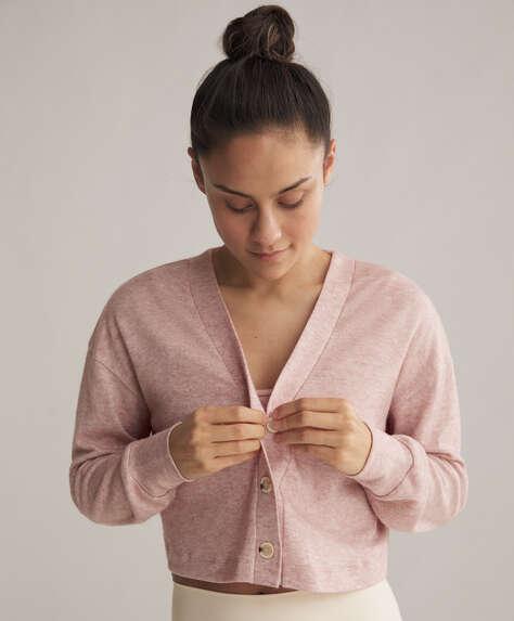 Short button-through jacket