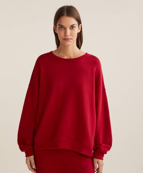 Baumwollsweatshirt