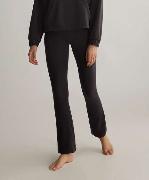 Comfort flare trousers