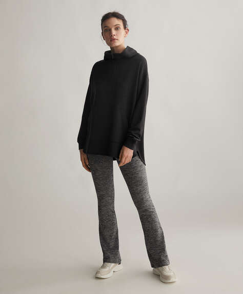 Warm flare trousers