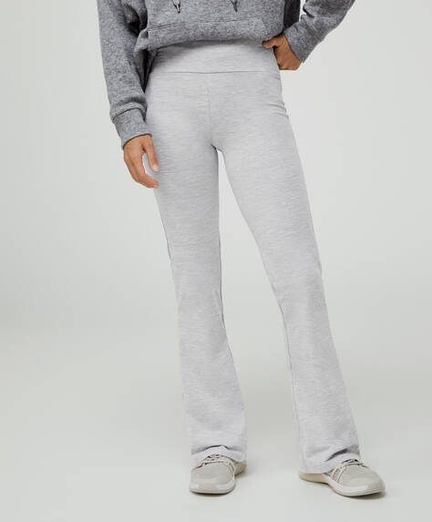 Comfortlux flare trousers
