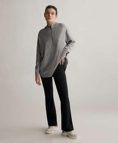 Pantalón Comfort flare interior tacto cálido