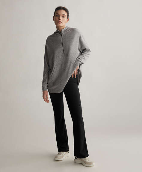 Warm touch interior Comfort flare trousers