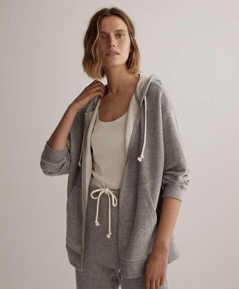 Oversize cotton jacket