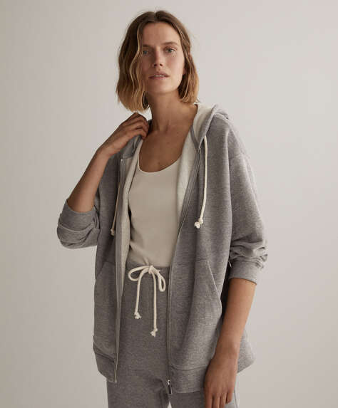 Oversize cotton jacket