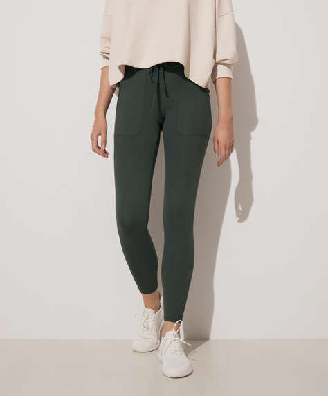Comfort Leggings mit Tunnelzug
