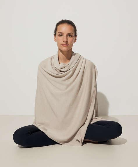 Yogafilt i bomull och siden