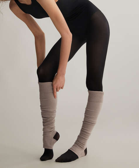Organic cotton leg-warmers