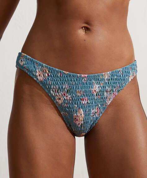 Bas de bikini brésilien à smock