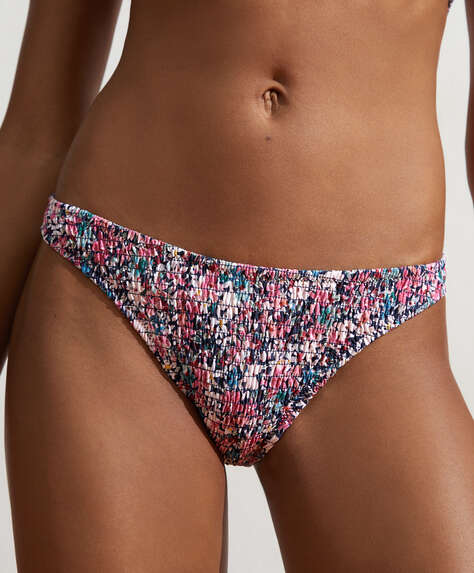 Smock Brazilian bikini briefs