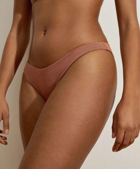 Ribbed classic bikini bottoms