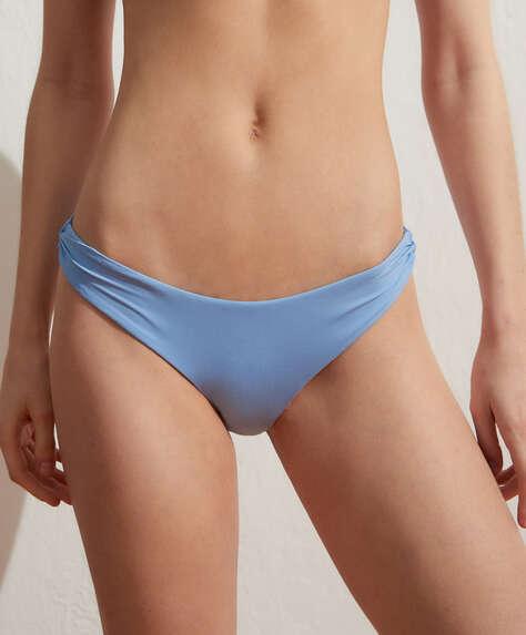 Extraweicher, einfarbiger klassischer Bikinislip