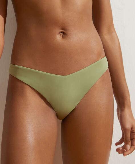 High-leg classic bikini briefs