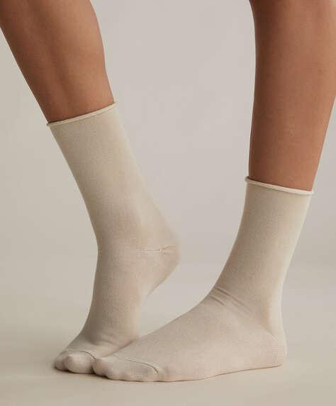 2 pares de calcetines medios modal