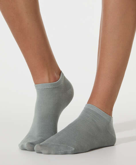 2 pairs of modal ankle socks