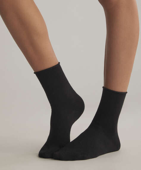 2 pairs of bamboo crew socks