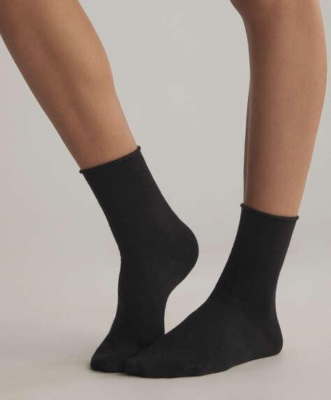 2 ζεύγη κάλτσες μπαμπού μετρίου μήκους