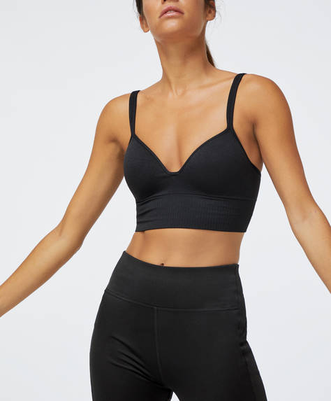 Multiway back seamless sports bra