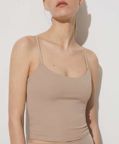 Stretch strappy top