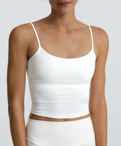 Stretch strappy top