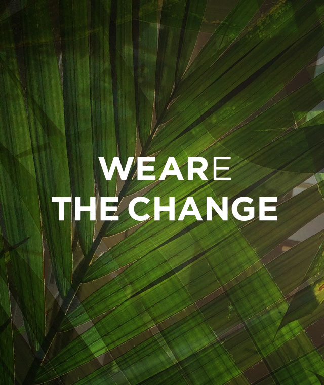 Weare the change